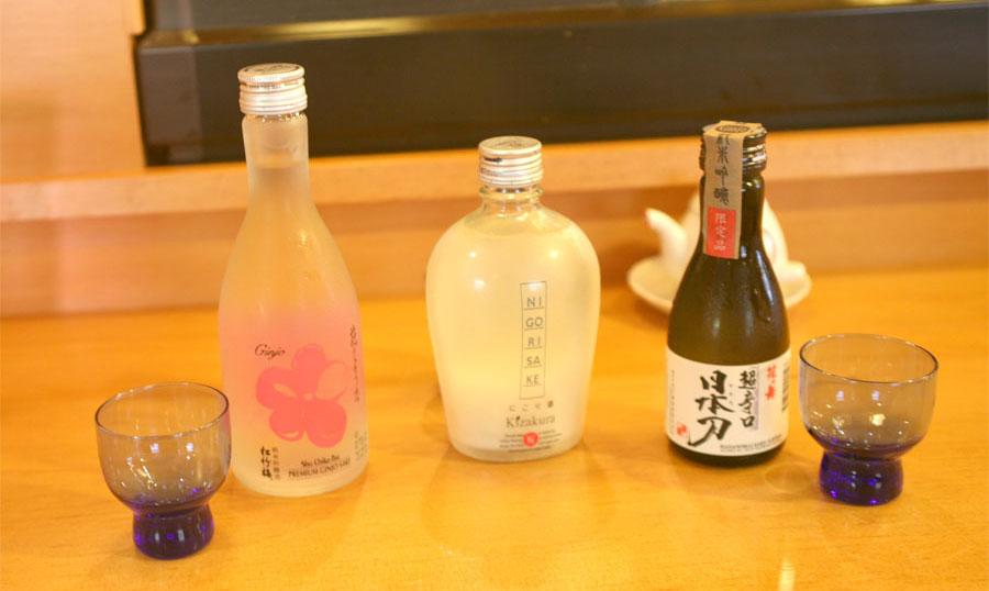 Sebastopol Sushi Restaurant Sake Wine & Beer List